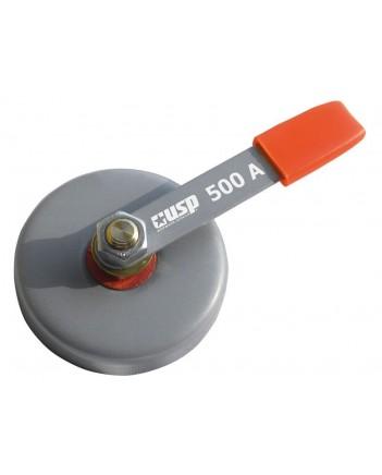 Клемма заземления магнитная 500 А, d 86 мм, сила магнита 23 кг 80789