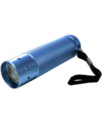 Фонарик алюм.голуб.корп.,9 LED яркий свет 67725