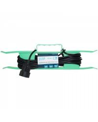 Удлинитель на рамке UR-1g-10m с 1 розеткой (б/з) 10м 9535011