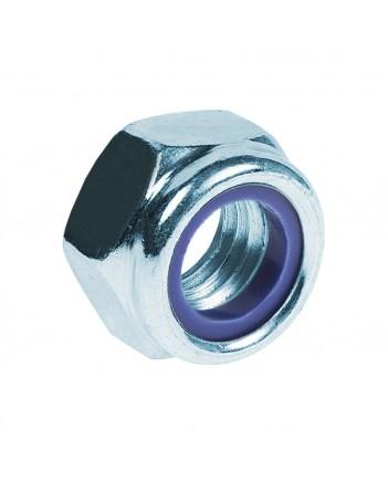 8 Гайка со стопорным кольцом DIN 985