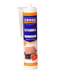 КРАСС Особопрочный клей-монтаж для пластика белый 300 ml./24(керамика)