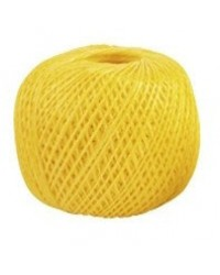 Шпагат полипропиленовый желтый 70м 0,8 ктекс; 45 кгс