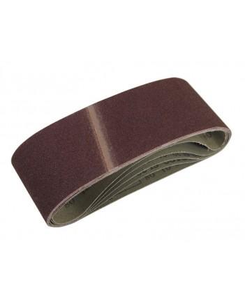 Лента шлифовальная 457*75 мм,тканевая основа , Р100, 5 шт 39685-1