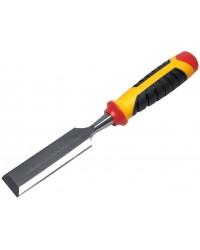 Стамеска-долото 16мм, хромованадиевая сталь, техкомп. ручка 43285