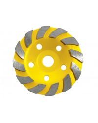 """Чашка шлифовальная сегментная """"Turbo"""", 125 х 9 х 22 мм 12500 max. об/мин 39527"""