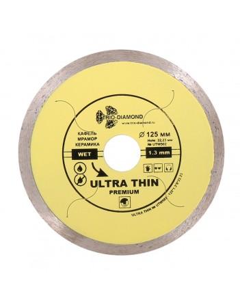 Диск алм. Trio керамика тонк. 125*1,2 желт. UTW502