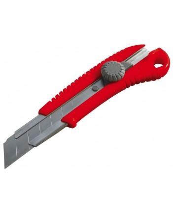 Нож технический, ширина лезвия 25 мм  10326