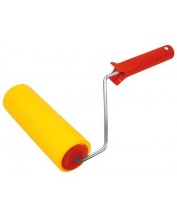 Валик резин.д/обоев желтый, 180 мм 02984