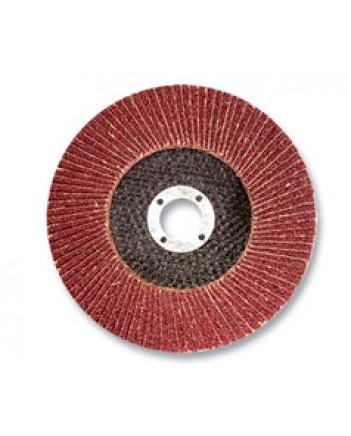 Диск лепестковый торцевой, 125х22мм,  Р80  39554-1