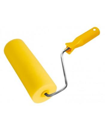 Валик поролоновый желтый, 15/55мм, высота 20мм, 180мм 02775
