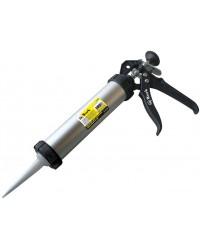 Пистолет для герметика закрытый, гладкий шток, 600 мл 14251