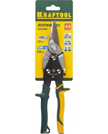 KRAFTOOL Ножницы по металлу, прямые , Cr-Mo, 260мм 2328-S