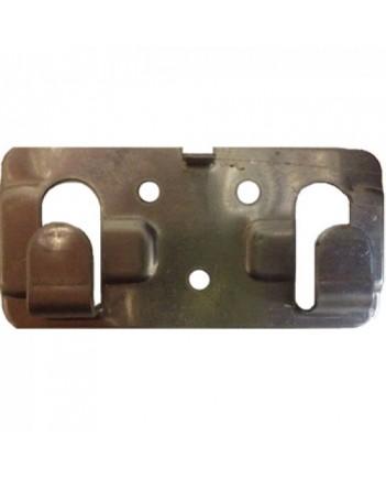 Кляммер фасадный для керамогранита стартовый 1,2 мм нерж. RAL бирюзовый