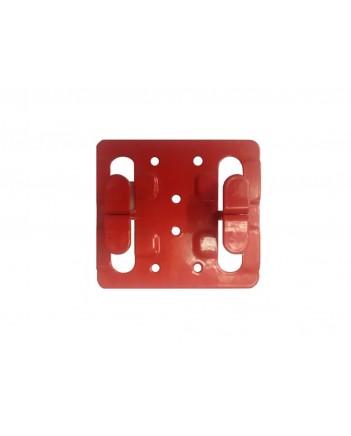 Кляммер фасадный для керамогранита рядовой 1,2мм нерж. RAL фисташковый