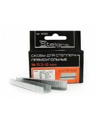 6 мм Скобы для степлера каленые (уп. 1000 шт) STELGRIT