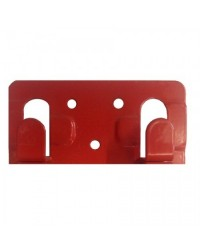 Кляммер фасадный для керамогранита стартовый 1,2 мм нерж. RAL красный