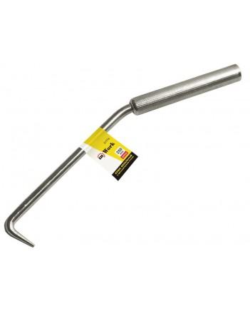Крюк вязальный, 250 мм, с металлической ручкой 31774
